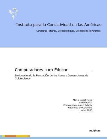 estudio de caso programa computadores para educar - CMSI