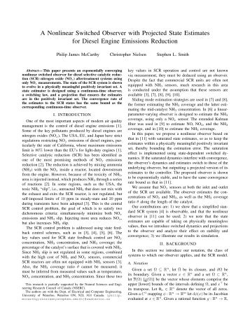 A Nonlinear Switched Observer with Projected State Estimates for ...