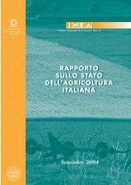 Rapporto_2004_INEA_Stato_Agricoltura_Italia - Portale dell ...