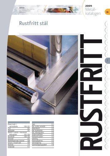 Rustfritt stål - Astrup AS