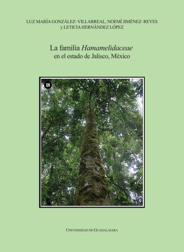 contenido - Flora de Jalisco - Universidad de Guadalajara