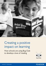 Creating a positive impact on learning