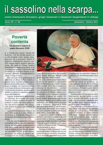 Settembre - Centro Missionario Diocesano di Bergamo