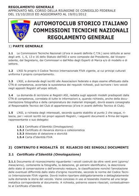 regole di datazione e regolamenti