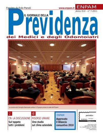 IL GIORNALE DELLA dei Medici e degli Odontoiatri ... - Enpam