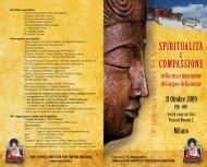 Spiritualità compaSSione - The New Yuthok Institute for Tibetan ...