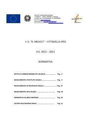 Normativa e regolamenti - IIS