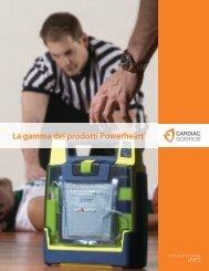 La gamma dei prodotti Powerheart® - Cardiac Science