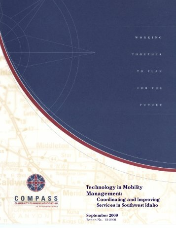 Technology in Mobility Management: Coordinating and - COMPASS