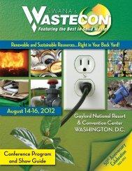 WAShiNGtoN DC • AUGUSt 14-16, 2012 - treeo