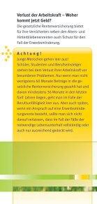 Arbeitskraft richtig absichern - Verbraucherzentrale Niedersachsen - Seite 3