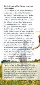 Arbeitskraft richtig absichern - Verbraucherzentrale Niedersachsen - Seite 4