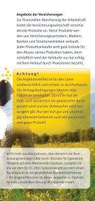 Arbeitskraft richtig absichern - Verbraucherzentrale Niedersachsen - Seite 5
