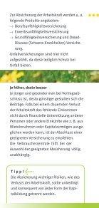 Arbeitskraft richtig absichern - Verbraucherzentrale Niedersachsen - Seite 6