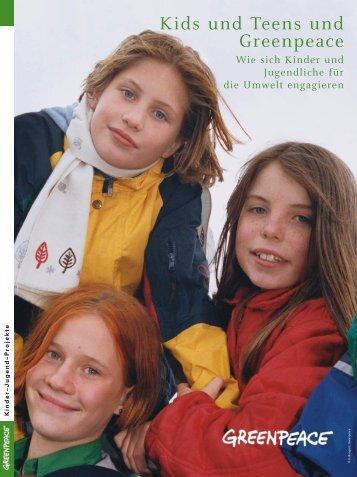 Kids und Teens und Greenpeace - Greenpeace Gruppen in ...