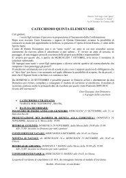 """Oratorio """"San Luigi e Sant'Agnese"""" - Parrocchia S.Vittore – Corbetta"""