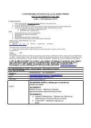Iscrizioni On Line classi 1^ 2013-2014 - IIS Agrario