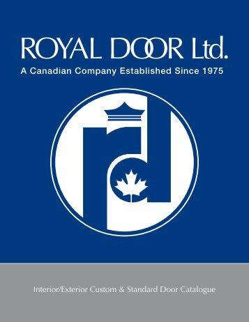 Royal Door Ltd. :: Interior/Exterior Custom & Standard Door Catalogue