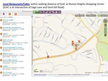 Restaurants/Cafes close to SLAC