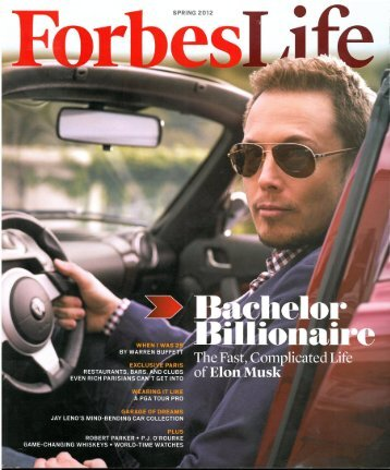 Forbes Life – Spring 2012 - Le Royal Monceau
