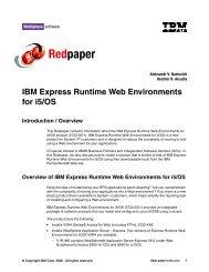 IBM Express Runtime Web Environments for i5/OS - IBM Redbooks