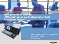Final Presentation - RSS - ESA