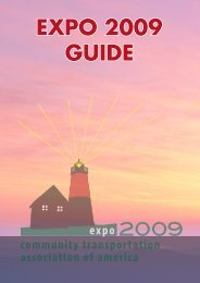 EXPO 2009 GUIDE - The Community Transportation Association of ...