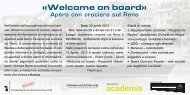 «Welcome on board» «Welcome on board»
