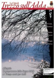 Allegati: Il programma della Sagra 2009 A Trezzo corsi ... - Trezzo.org