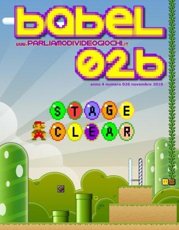 PDF Babel 026 - Parliamo di Videogiochi