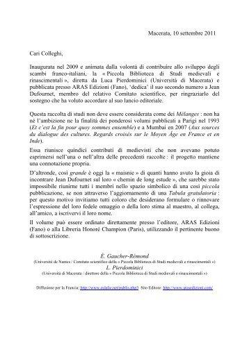 Informazioni e modulo - Società Italiana di Filologia Romanza