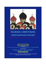 Biblioteca dello Spirito - Russia cristiana