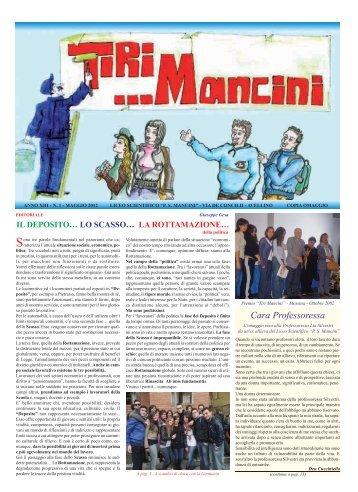 n. 1 - maggio 2012 - Liceo Scientifico PS Mancini
