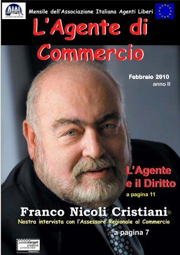 Numero 7 febbraio 2010.p65 - Associazione Italiana Agenti Liberi