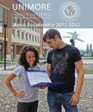 Guida 2010-2011 - Università degli studi di Modena e Reggio Emilia