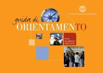 GUIDA ORIENT 2009 ITA ES x web - Università degli Studi di Torino