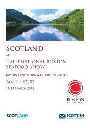 Scotland at the International Boston Seafood Show - Scottish ...