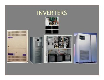 INVERTERS - Lighting Specialists Inc.