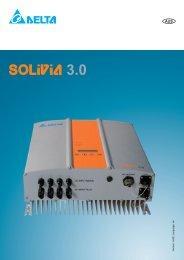 Delta 3.0kW Inverter Specification - Eurosolar.com.au