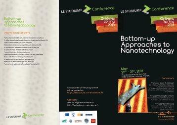 Programme - Le Studium - CNRS Orleans