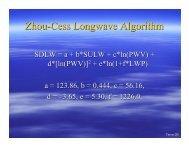 Zhou-Cess Longwave Algorithm - Ceres