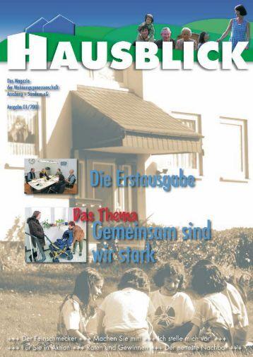 Wir Mieter - Arnsberger Wohnungsbaugenossenschaft eG