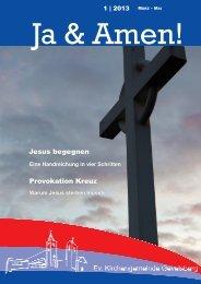 Gemeindebrief 1 2013 - der evangelischen Kirchengemeinde ...