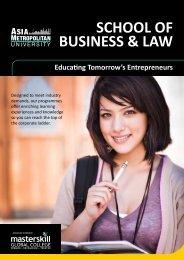Faculty Of Business - ASIA Metropolitan University