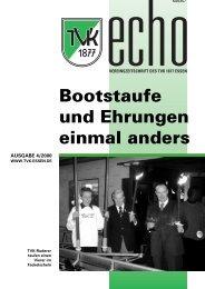 TVK-Echo 4/2000 - Turnverein 1877 eV Essen-Kupferdreh