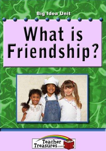 Friendship? - Teacher Treasures