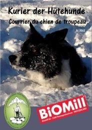 Kurier 2012-3 - Swiss sheep dog society