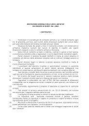 descrizione generale delle unita' abitative - Balotta Costruzioni