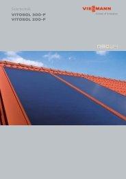 Solartechnik VITOSOL 300-F VITOSOL 200-F - LUX intelligente ...