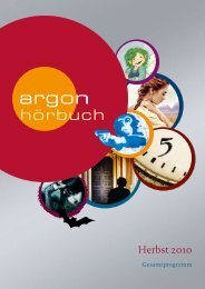 Herbst 2010 - Argon Hörbuch